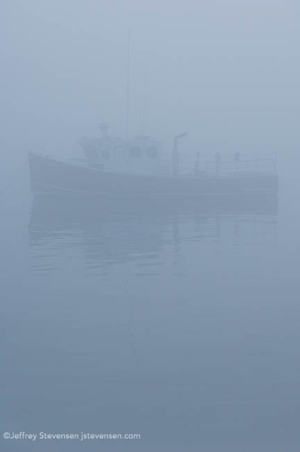 Heavy Fog, Evening, Port Clyde, Maine