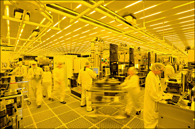 Semiconductor wafer fabrication