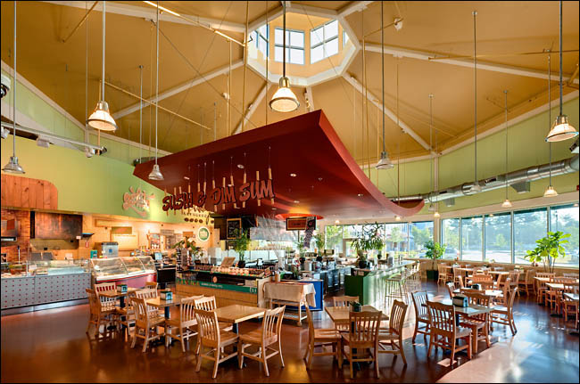 Whole Foods Market Sushi Architecture, Fox Run Plaza, Glastonbury, CT ©Jeff Stevensen